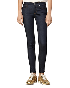 Sandro Jeans ULRICK HIGH-RISE JEANS IN RAW