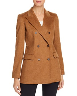 Lafayette 148 New York - Saxon Double-Breasted Cashmere-Blend Jacket