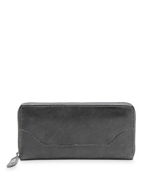Frye - Melissa Leather Zip Wallet