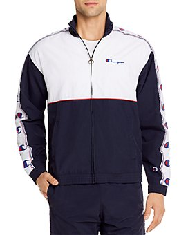 Champion Reverse Weave - Color-Block Regular Fit Logo Tape Jacket