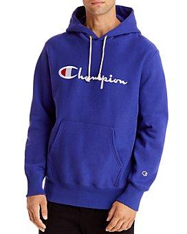 Champion Reverse Weave - Reverse Weave Embroidered Logo Hooded Sweatshirt