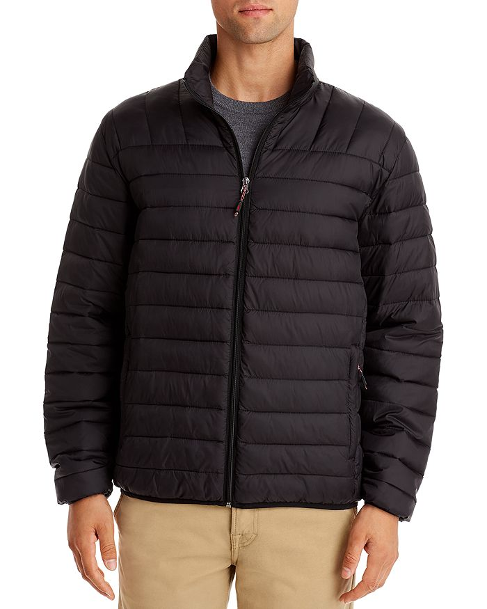 Hawke & Co. Packable Puffer Jacket In Black
