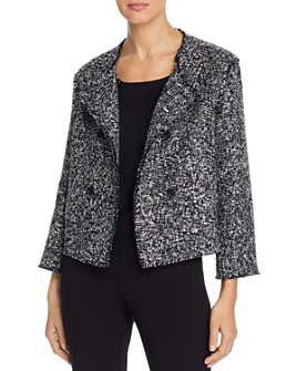 BOSS Hugo Boss - Jeljana Tweed Cropped Jacket