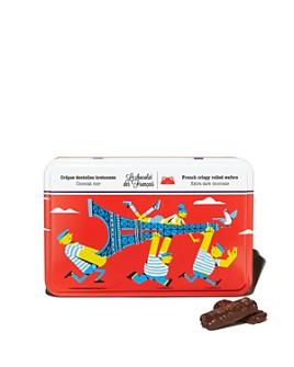 Le Chocolat des Francais - Dark Chocolate Crispy Rolled Wafers