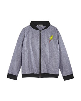 Mini Series - Boys' Chambray Bomber Jacket, Little Kid - 100% Exclusive