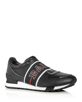 Gabryel Leather Slip-On Sneakers