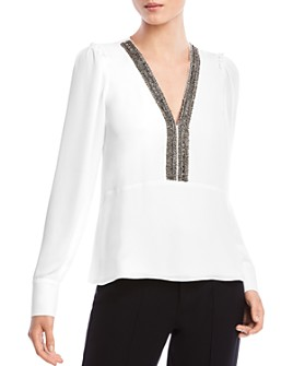 Bailey 44 - Dalia Embellished Top