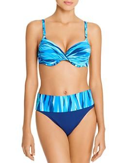 Bleu Rod Beattie - Molded Cup Underwire Bikini Top & Fold-Over Bikini Bottom