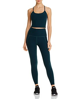 Beyond Yoga - Space-Dye Crop Top & High-Rise Leggings
