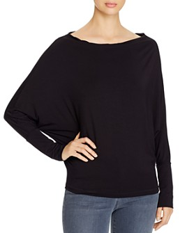 Elan - Convertible-Neckline Top