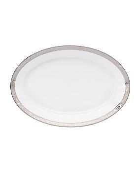 "Philippe Deshoulieres - ""Trianon"" Platinum Oval Platter"