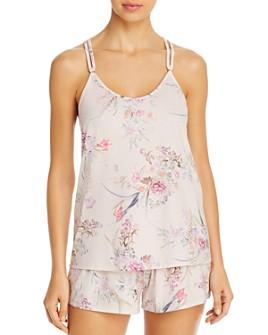 Flora Nikrooz - Jasmine-Print Short Pajama Set