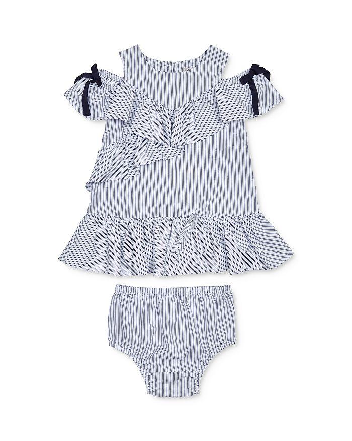 Habitual Kids - Girls' Jael Ruffled Cold-Shoulder Dress & Bloomers Set - Little Kid