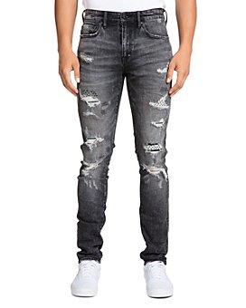 PRPS - Belvedere Distressed Skinny Fit Jeans in Black