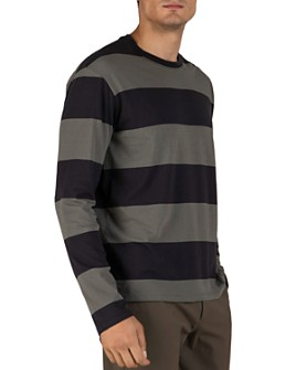 ATM Anthony Thomas Melillo - Rugby-Striped Long-Sleeve Tee