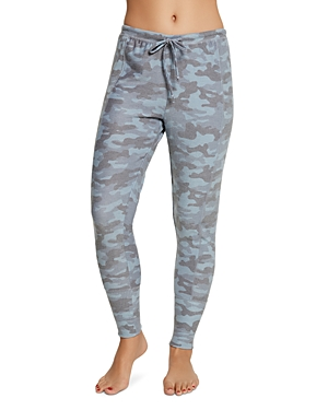 Chaser Ribbed-Panel Camo Sweatpants