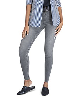 SPANX® - Distressed Denim Skinny Jean Leggings