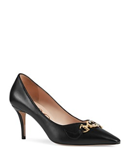 Gucci - Women's Gucci Zumi Pointed-Toe Pumps