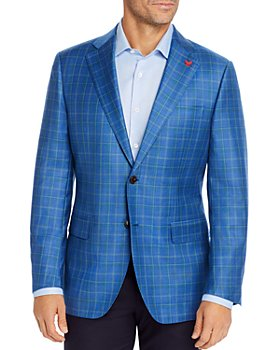 Cardinal Of Canada - Tonal Plaid Regular Fit Sport Coat - 100% Exclusive