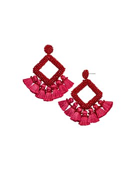 BAUBLEBAR - Gem Laniyah Tassel Drop Earrings