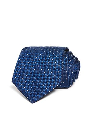 Armani Dotted Herringbone Silk Classic Tie