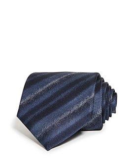 Armani - Faded Stripe Silk Classic Tie