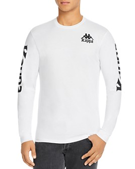KAPPA - Authentic Ruiz Graphic Logo Long-Sleeve Tee