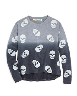 Vintage Havana - Girls' Skull Print Top - Big Kid