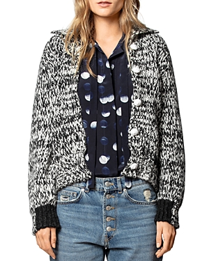 Zadig & Voltaire Tops TYRIA MARLED CARDIGAN