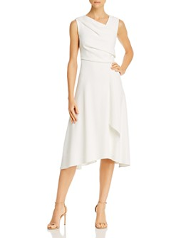 Adrianna Papell - Draped Crepe Dress