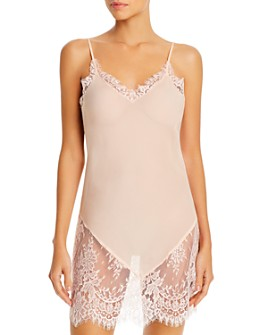GINIA - Georgia Sheer Silk Chemise