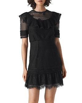 Whistles - Mariah Ruffled-Lace Dress