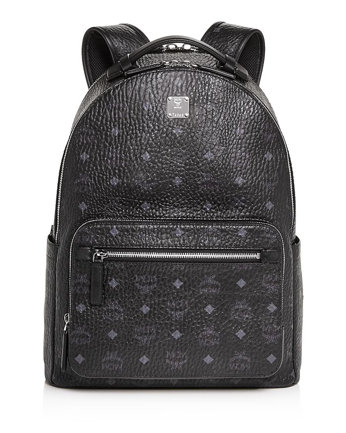 MCM - Stark Monogram Backpack