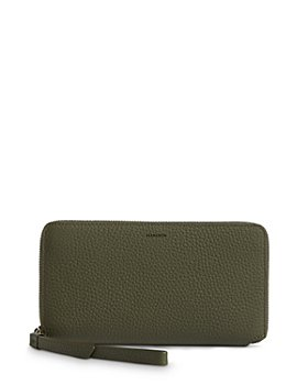ALLSAINTS - Fetch Leather Phone Wristlet