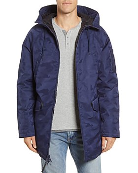 Alpha Industries - Jacquard Regular Fit Down Parka