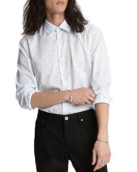 John Varvatos Collection - Floral Sport Slim Fit Shirt