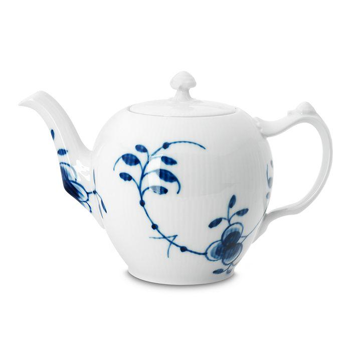 "Royal Copenhagen - ""Blue Fluted Mega"" Teapot"