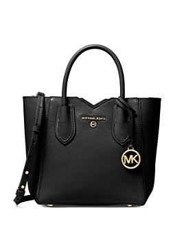 MICHAEL Michael Kors - Mae Small Leather Satchel