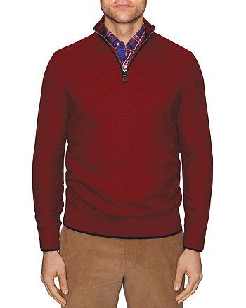 TailorByrd - Jamal Quarter-Zip Sweater