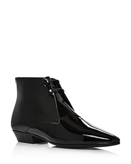 Saint Laurent - Women's Jonas 25 Lace-Up Booties