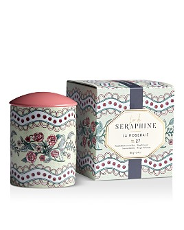 L'or de Seraphine - La Roseraie Small Ceramic Candle