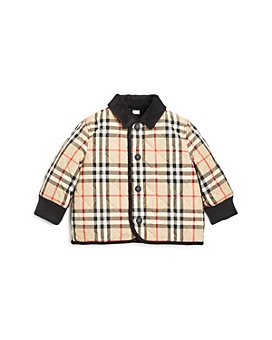 Burberry - Boys' Culford Quilted Vintage Check Jacket - Baby