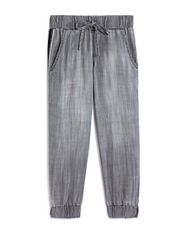 Bella Dahl - Girls' Ombré-Stripe Jogger Pants - Little Kid, Big Kid