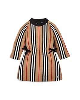 Burberry - Girls' Chiara Icon Stripe Knit Dress - Baby