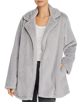 Splendid - Faux Fur Lounge Wrap Jacket