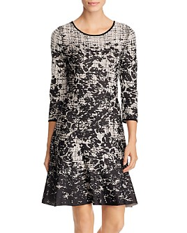 NIC and ZOE - Printed Knit Dress