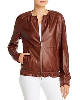 Lafayette 148 New York - Rylan Leather Jacket