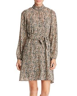 Vero Moda - Josephine Printed Mock-Neck Dress