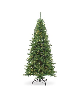 Gerson Company - 7 ft. Ozark Pine with Dual Color-Changing LED Lights