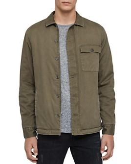 ALLSAINTS - Sherpa-Lined Regular Fit Shirt Jacket